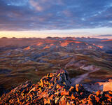 Stony Pass Peak Sunrise print
