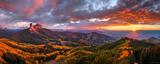 Cimarron Sunset Panorama print