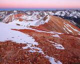 Red Mountain Dusk print