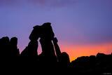 Druid Arch Silhouette print