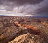 Clouds Over Canyon print