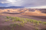 Stormy Dunes Sunset print