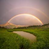 Sultan's Rainbow print