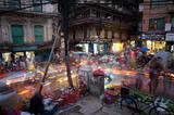 Kathmandu Chaos print
