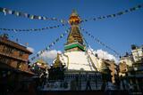 Thamel Stupa print