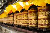 Khumjung Prayer Wheels print