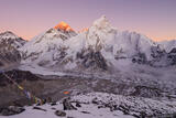Everest Sunset print