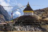 Thame Stupa print