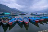 Pokhara Canoes print