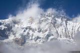 Annapurna Face print