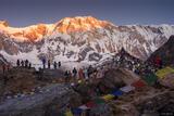 Annapurna Sunrise print
