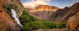 Thunder River Panorama print