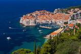 Above Dubrovnik print
