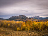 Crested Butte Autumn Evening print