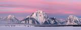 Mt. Moran Sunrise Panorama 1 print