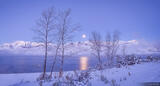 Timpanogos Winter Moonset print
