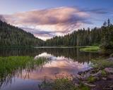 Deer Lake Sunset print