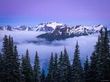 Mount Olympus Twilight print