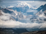 Alaska Range Clouds print