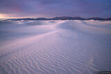 White Sands Dawn print