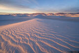 White Sands Sunrise print