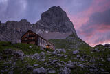 Hut Trekking through the Karwendel, Austria