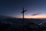 Cross Atop Naunspitze print