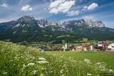 Kaisergebirge Over Ellmau print