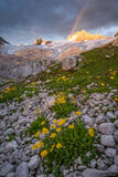 Hoher Dachstein Sunrise print