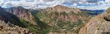 Sunshine Peak Panorama print