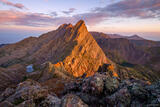 Crestone Needle Sunrise Light print