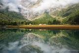 Alpe Palü Reflection print