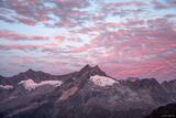 Rhaetian Sunrise print