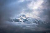 Jungfrau in the Clouds print