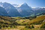 Eiger Over Grindelwald print