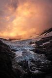 Glacier on Fire print