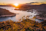 Sunset Over Lake Mead print