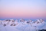 Snowy Earthshadow print