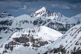 Sneffels from Telluride Peak print
