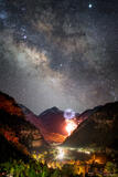 Ouray Cosmic Fireworks print