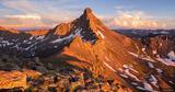 Wetterhorn Peak Sunset #3 print
