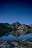 Cook Lake Starry Reflection print