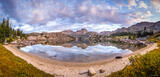 Alpine Beach Panorama print
