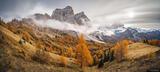 Monte Pelmo Autumn Panorama print