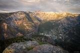 Twin Peaks Sunset print