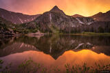 Macey Sunset Reflection print