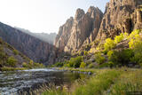 Gunnison River Evening Light print