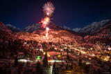 Happy New Year in Ouray print