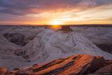 Redrock Sunset print