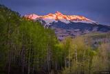Wilson Peak Spring Sunrise print